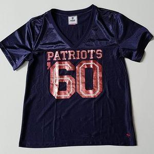 Pink Pateiots jersey large